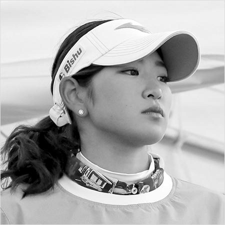 美女ゴルファーの極限バトル(2)原英莉花らモデル体型のジャンボ軍団