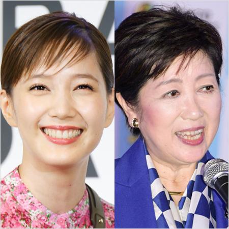 本田翼と小池百合子「五輪ビジネス」で荒稼ぎ(2)「お顔が私と似ているわね」