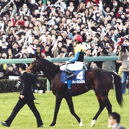 ディープインパクト「後継新種牡馬」レース(3)「黄金配合」を世に知らしめた