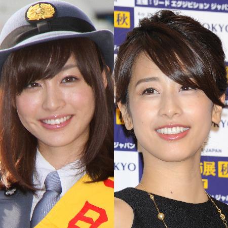 フジに落ちた新井恵理那が、フジの元エース加藤綾子をギャラで圧倒!?